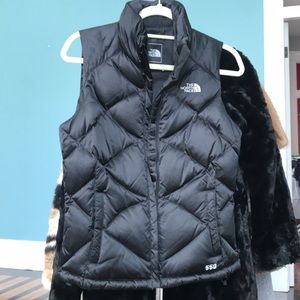 North Face 550 vest
